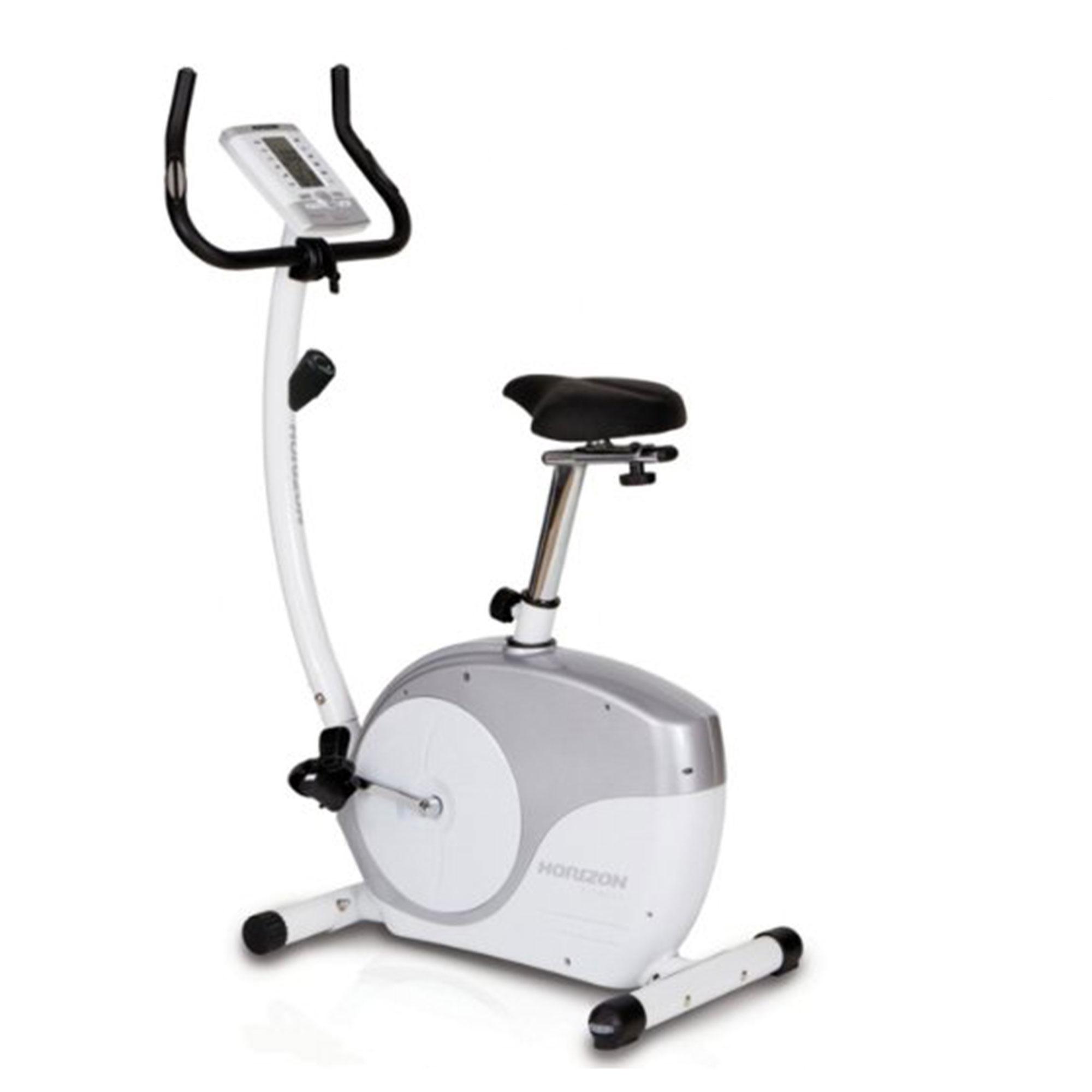 Deluxe Horizon Colima Pro Upright Exercise Bike Ne Fitness Ireland